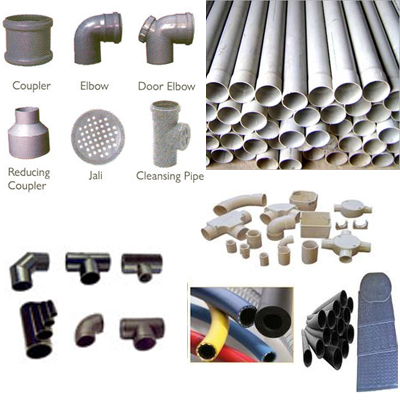 PVC Valves Pipes Fitting