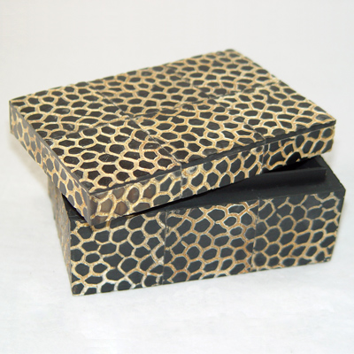 Designer Gift Boxes: Christmas, Leather, Animal Prints