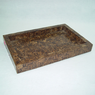 Wooden Decorative Tray From India