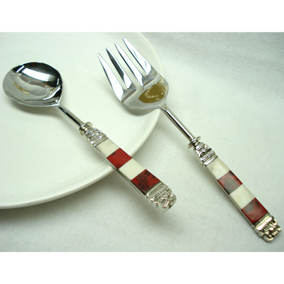 Salad servers set and salad server flatware epns a salad servers