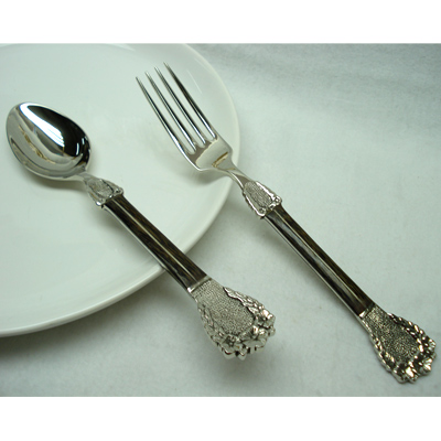 Epns Salad Servers In Stainless Steel From India
