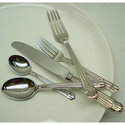stainless steel flat ware set supplier in india