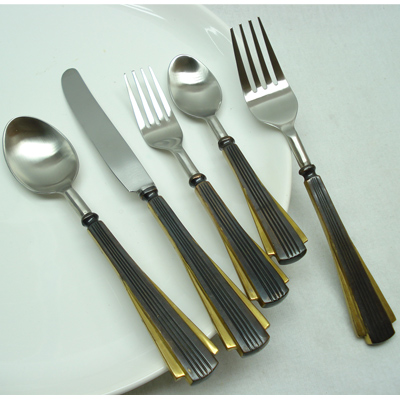 Flatware Steel Flatware Set Totally Stainless And Beautiful