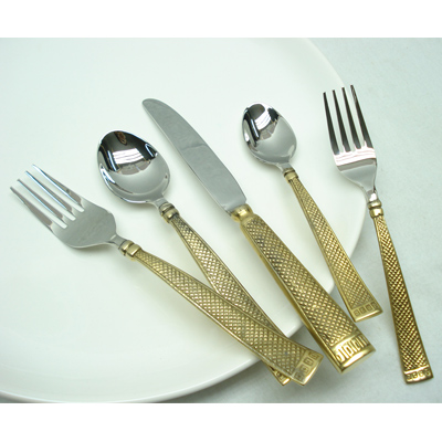 Indian Flatware Sets In Brass and Stainless Steel