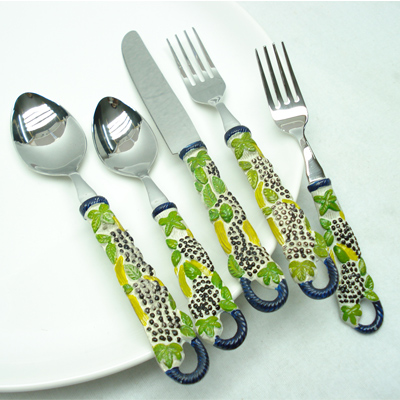 Horn And Steel Flatware Sets Suppliers in India