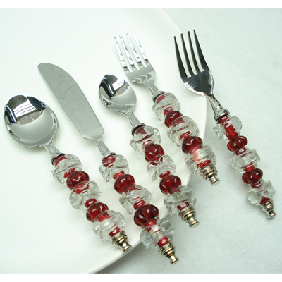 Beaded Salad Server Set Manufacturers