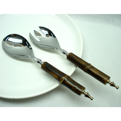 Salad servers in Flatware