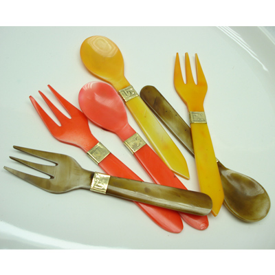 Silver and Flatware salad servers