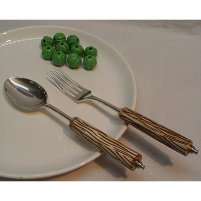 salad set stainless steel