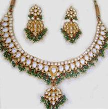 Designer Kundan Bridal Set