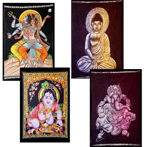 Batik Paintings On Cloth