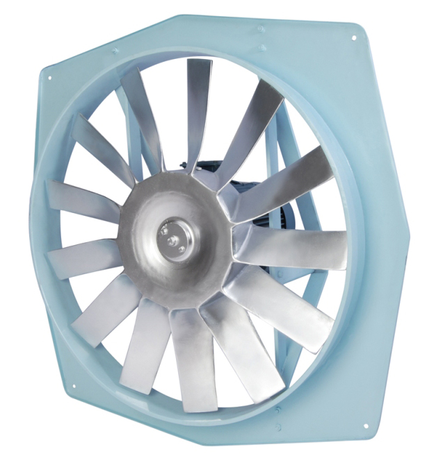 Wall Mounted Propeller Type Fans