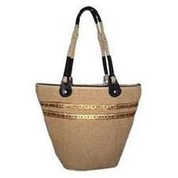 Ladies Designer Jute Handbags