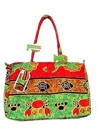 Cotton Canvas Beach Bags