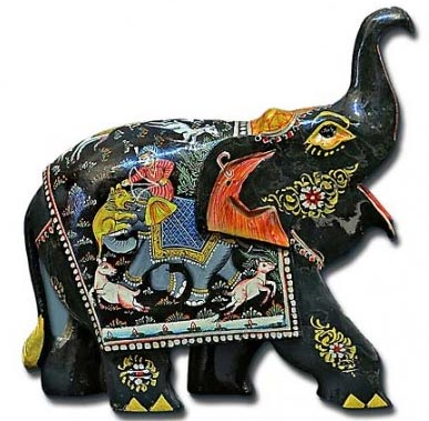 Black Elephant In Metal