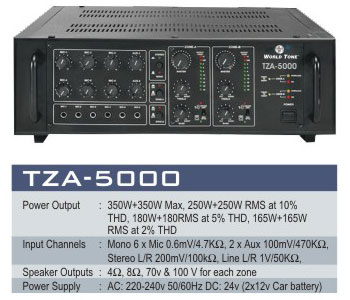 High Power Amplifiers System
