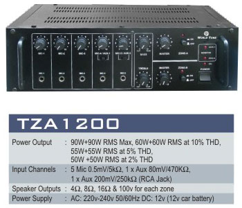 High Performance Amplifier System