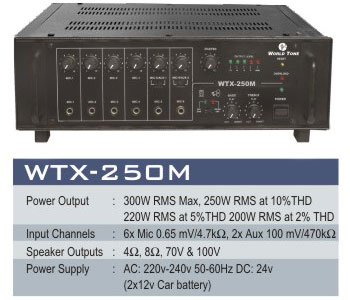 Pa Mixers Power Amplifier