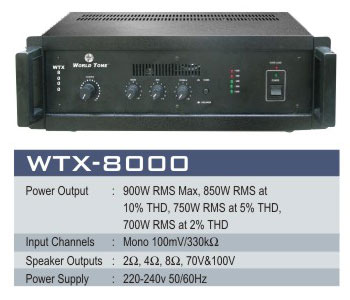 High Power Amplifiers