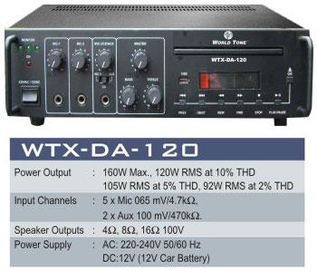 High Power Dvd Amplifier System