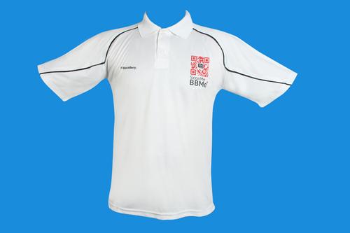Blackberry Poly T Shirt