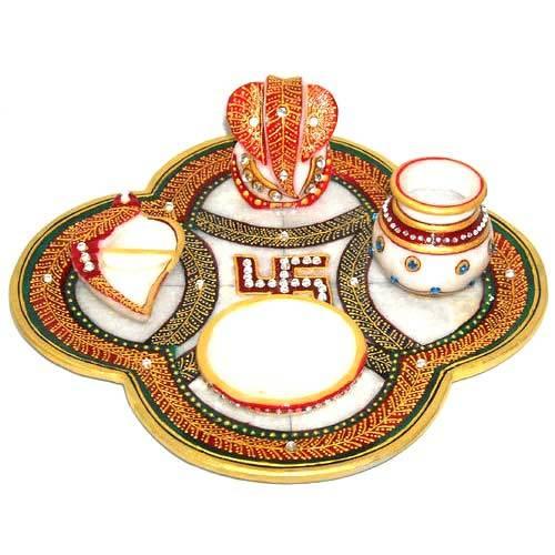 Ganpati Pooja Thali Set