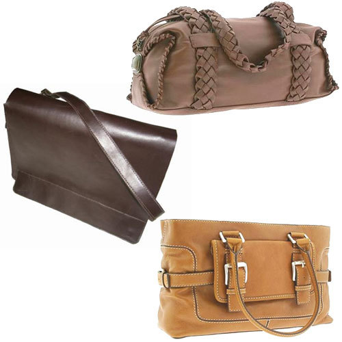 Fashionable Leather Bags