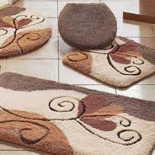 Decorative Bathroom Door Mats