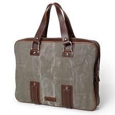 Stylish Canvas Leather Bag