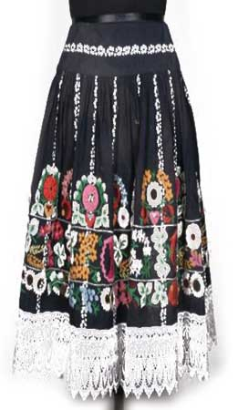 Embroidered Ladies Skirts