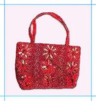 Fancy Beaded Hand Bags