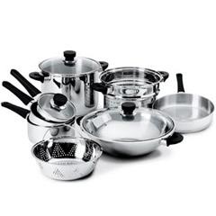 Fancy Steel Kitchenware
