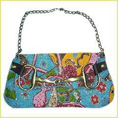Designer Beaded Handbags