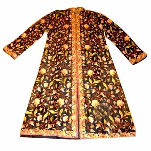 Designer Ladies Long Jacket Pheran