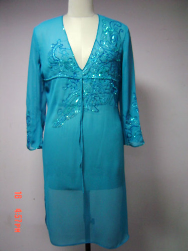 Beaded Embroidered Kaftan