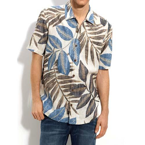 Floral Print Men Shirt