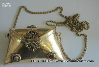 Designer Metal Ladies Bags