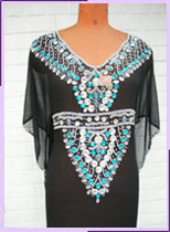 Embroidered Ladies Kaftans