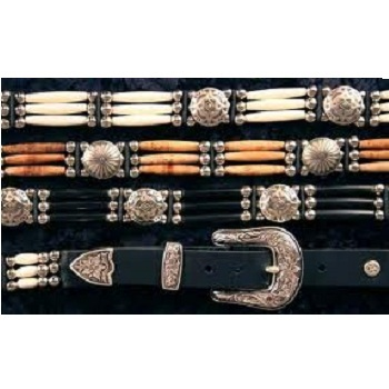 Bone Beaded Fashion Belts