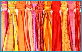 Assorted Cotton Scarves
