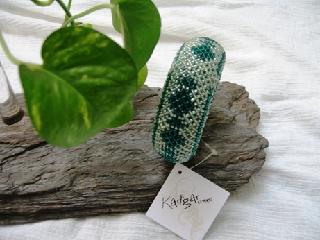 Designer Crochet Bangle