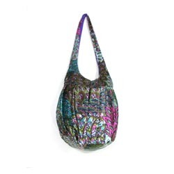 Embroidered Cotton Jhola Bags