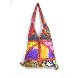 Embroidered Jhola Bags
