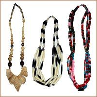 Bone Horn Beaded Jewelry