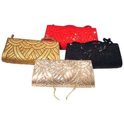 Beaded Colorful Clutch Bags