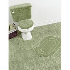 Designer Bathroom Rug Set