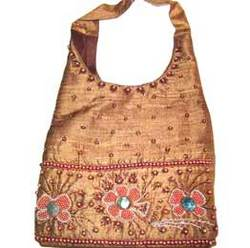 Beaded Ebmroidery Jhola Bags