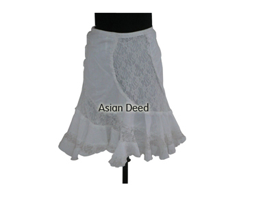 Cotton Ladies Fashion Skirts