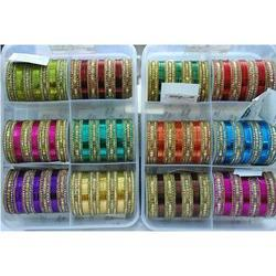 Coloured Metal Bangles