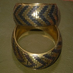 Antique Brass Bangles